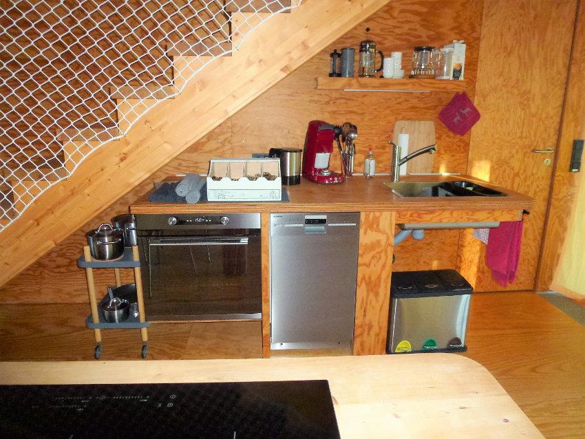 Ecolodge Küche
