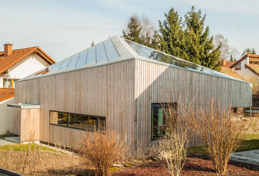 Ecolodge Solaranlage