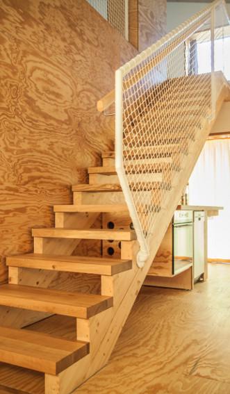Ecolodge Treppe