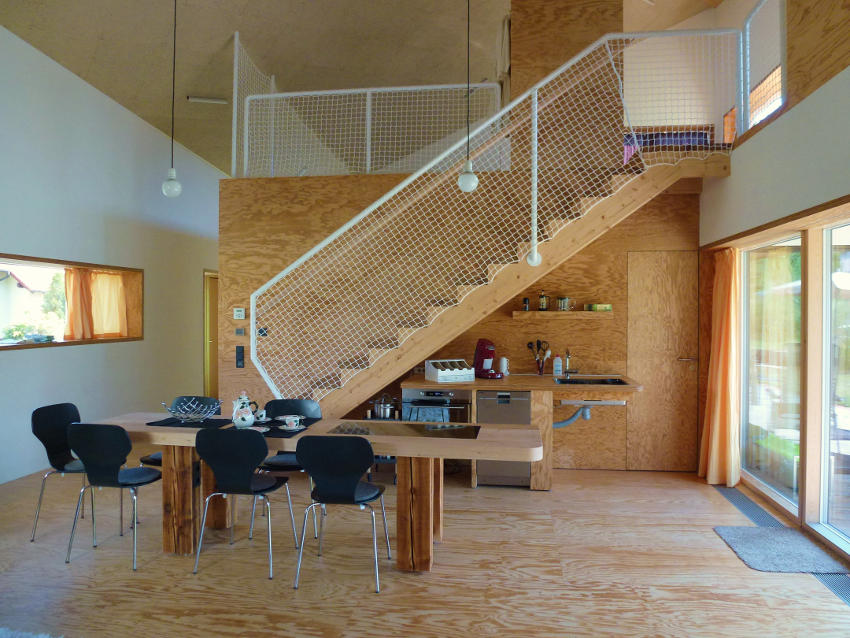 Ecolodge Wohnraum