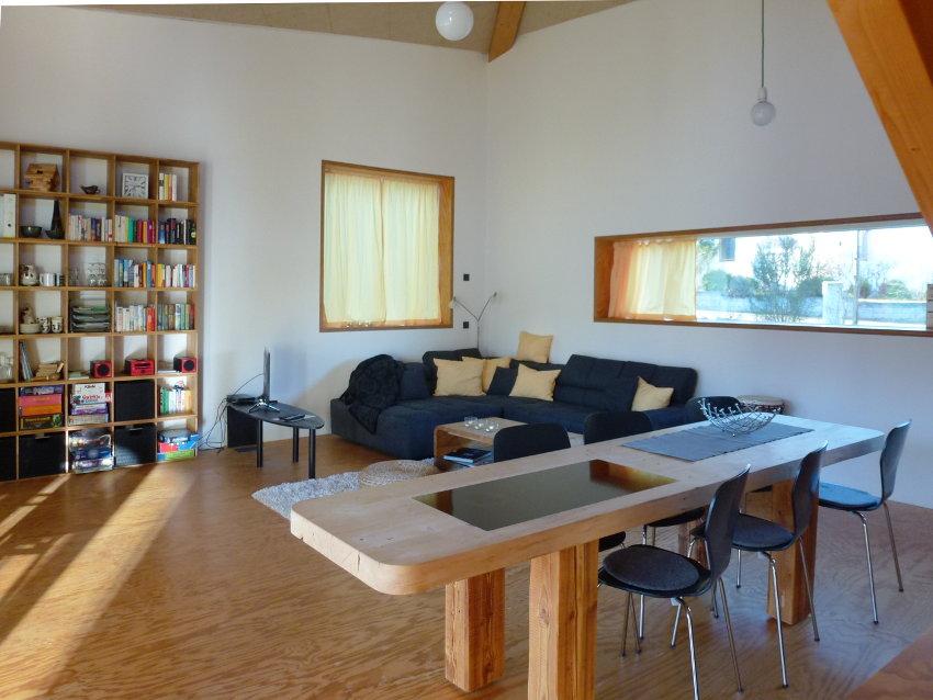 Ecolodge Wohnzimmer