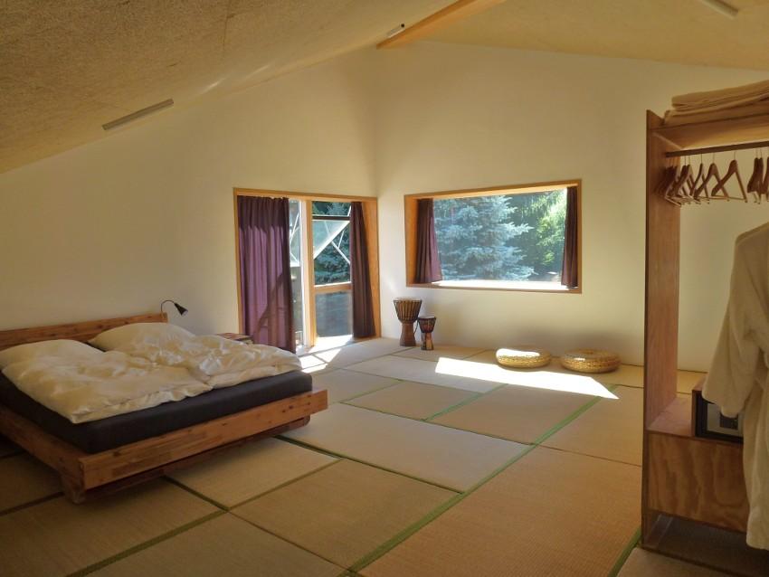 Ecolodge Schlafgalerie